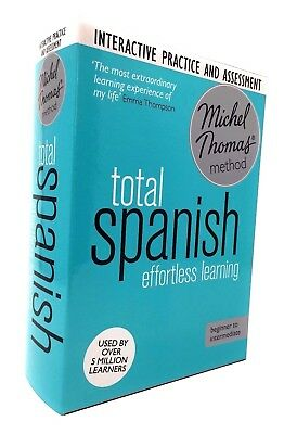 Total Spanish with the Michel Thomas Method includes Practice & Test (CD Audio)