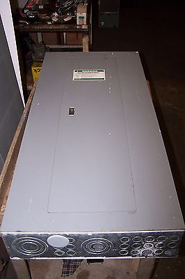 Square D 225 Amp Main Breaker Panelboard 208Y/120 Vac 30 Circuit 3 Phase