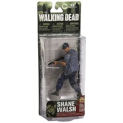 The Walking Dead Action Series 6 Figure Shane Walsh - Brand New!