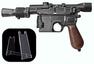 SPECIAL OFFER - HAND MADE - Han Solo DL-44 Blaster Prop with FREE STAND