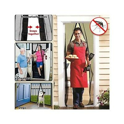 Magnetic Flyscreen Door Frame Protector from Insects Mosquitos Bugs Flies Pests