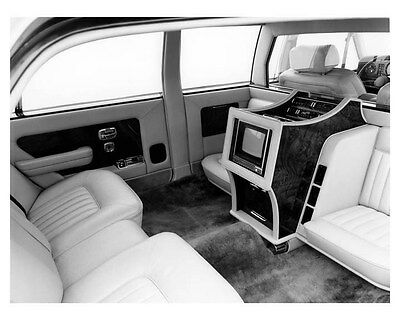 1985 Rolls Royce Silver Spur Limousine Interior Factory Photo uc0941