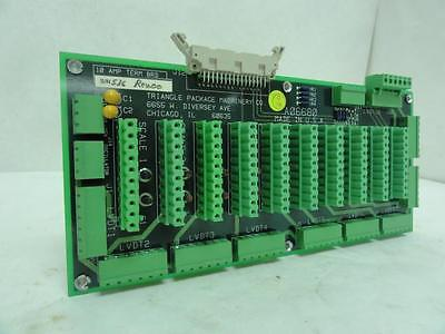 170318 Old-Stock, Triangle A06680 PC Terminal Board, 10 Ampere