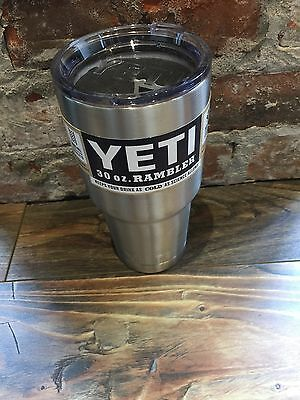 YETI 30 oz Stainless Steel Rambler Tumbler Insulated Cups