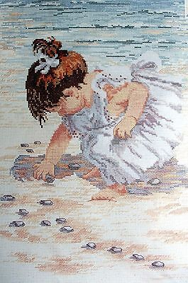 "Janlynn  Counted Cross Stitch Kit ""collecting Shells"