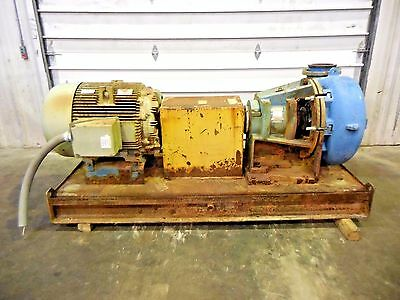 "RX-3630, METSO HM200 FHC-D 8"" x 6"" SLURRY PUMP W/ 100HP MOTOR AND FRAME"