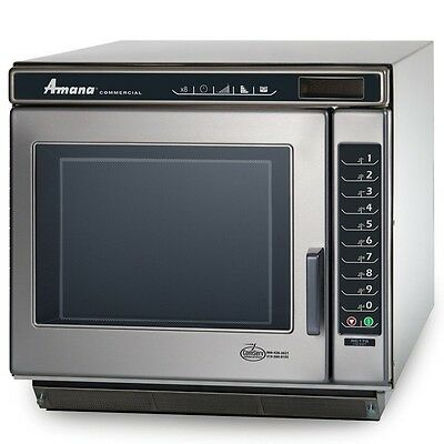 Microwave Oven, Amana Commercial, 1700 Watts, Model RC17S2