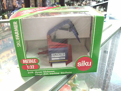 MAYER SILO COMBSILAGE SPREADER  # 2458 scale 1/32 by Siku NEW