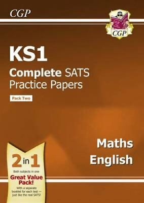 KS1 Maths and English SATS Practice Papers (Updated for the 201... 9781782947493