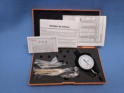 Mitutoyo Dial Bore Gage Model 511-209 Range 6-10mm Resolution .001mm