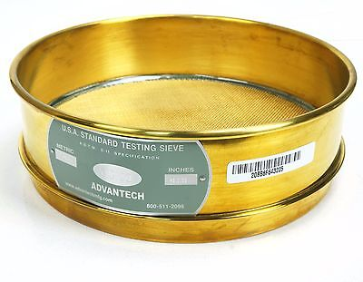 ADVANTECH USA Standard no magnetic Stainless Steel Testing Sieve No. 20 .0331""