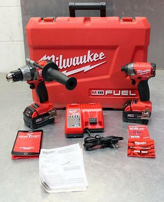 Milwaukee M18 FUEL 2-Tool Hammer & Impact Combo Kit with ONE-KEY 2796-22