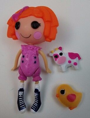 Mini Lalaloopsy Sunny Side Up Pink Overalls Pet Chick Berrys Pet