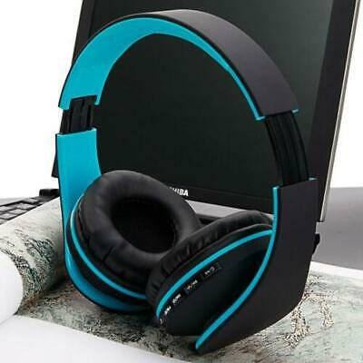 Wireless Bluetooth Headset Stereo Headphones Earphone Mic For Sumsang IPhone HTC