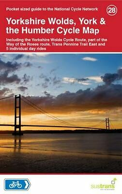 Yorkshire Wolds, York & The Humber Cycle Map 28 9781900623452