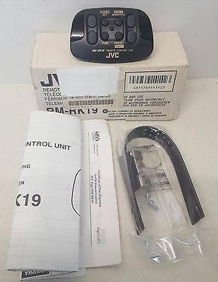 JVC  RM-RK19 Wireless IR Car Stereo Remote Control  NOS(NEW OLD STOCK)#536