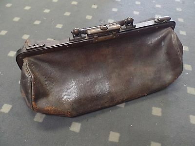Antique 1900's Gladstone doctors bag MUST SEE!!!