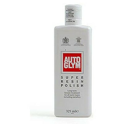 Autoglym Car Detailing - Super Resin Polish for Exterior Paint and Body - 325ml