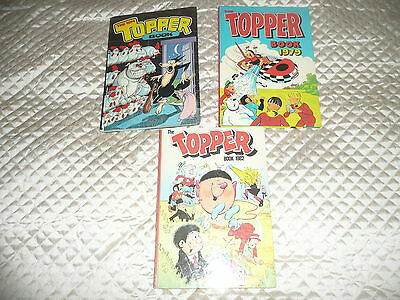 3 xTOPPER  annuals 1974, 79,  & 1982..