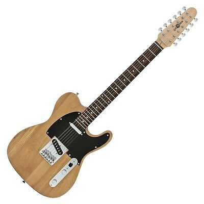 Knoxville Deluxe 12 String Electric Guitar by Gear4music