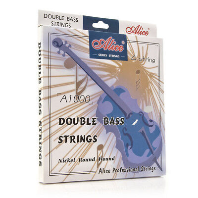 Alice Double Bass String Set 3/4 size