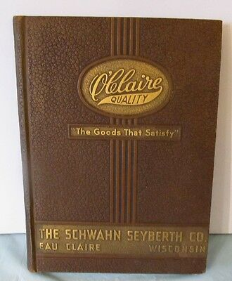 1920's Leather Bound The Schwahn Seyberth Co. Harness & Harness Parts Catalogue