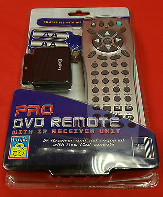 (wi1) DVD Remote Control For PS2