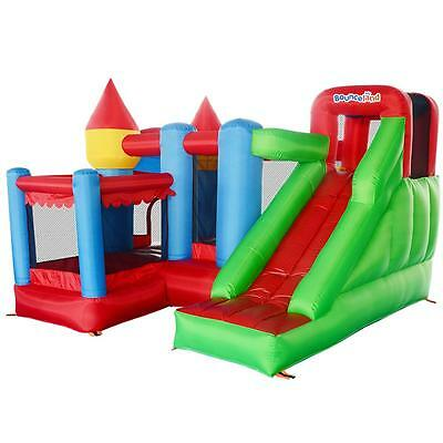 Bounceland Play Park 10ft Inflatable Bouncy Castle with Airflow Fan