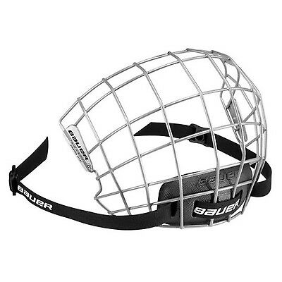 Bauer 2100 Hockey Facemask - Medium - Grey