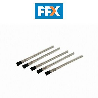 Silverline 105878 Solder Flux Brushes 5pk 15mm