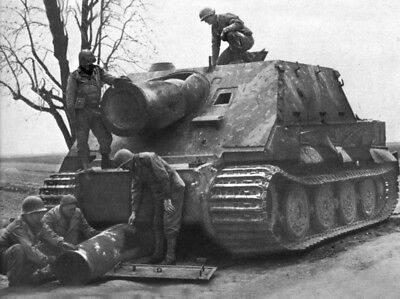 WW2 German Tiger Tank in Action, Sturmtiger  WWII World War Two Panzer Germany