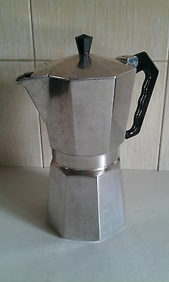 Aluminium WHITTARD CHELSEA Italian Style Expresso Stove Top 6 Cup Coffee Maker