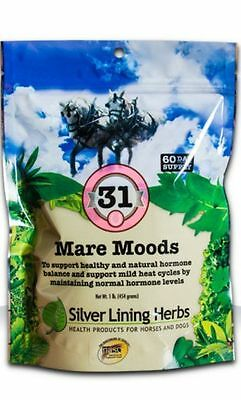 SILVER LINING HERBS #31 Mare Moods Horse Normal Cycle Disposition Equine 1 Pound
