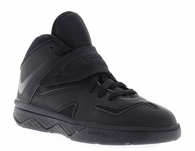buy popular 8536e d30b9 NIKE YOUTH BOY'S Girl's LeBron Soldier 7 PS Black Basketball Shoes 616986  022