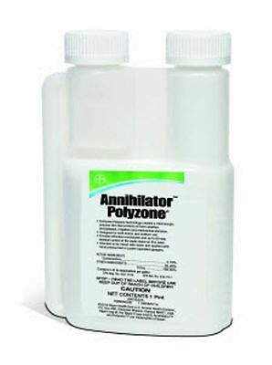Pest Control Bayer Annihilator Polyzone 16oz Concentrate Stables Cattle Yards