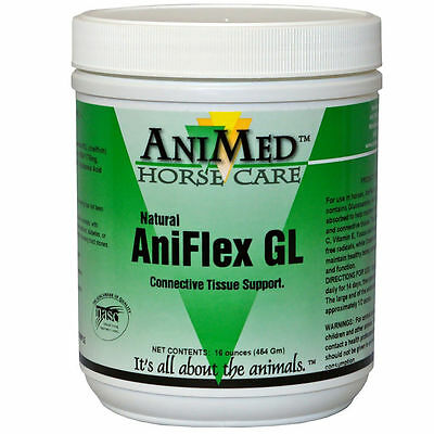 Aniflex GL Joint Care 16 oz Natural Equine Horse Tissue Support MSM