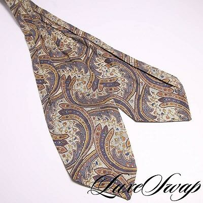 Liberty of London Made in England Cotton Tana Lawn Floral Paisley Ascot Scarf NR