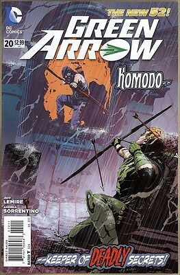 Green Arrow #20 - VF - New 52