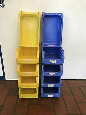 SSI Schäfer Storage Box - Stackable - Semi-open Front - BOXES 320 210 145 LF321