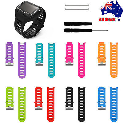 Sports Soft Silicone Replacement Band Strap Bracelet For Garmin Forerunner 910XT