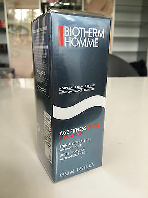 BIOTHERM HOMME AGE FITNESS NIGHT ADVANCED 50 ml OVP