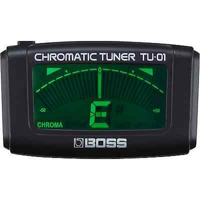 Boss TU-01 Clip-On Chromatic Guitar Tuner