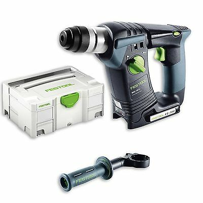 FESTOOL Cordless Drill Hammer SDS-Plus BHC 18 LI 4,2 Basic in the Systainer