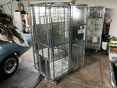 Original Ford Motor Company Shipping Cage For Freight Dealer Garage Shop