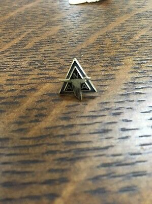 Vintage North American Aviation Employee Service Pin On Card