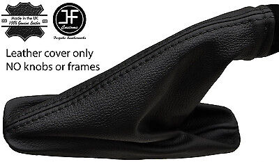 Black Stitch Leather Handbrake Gaiter For Land Rover Freelander 2 Lr2 06-14