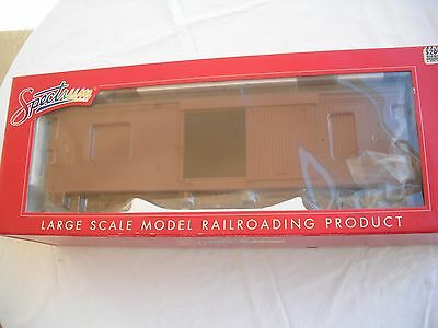 Spectrum 88099 BoxCar Box Car, Undecorated Painted Unlettered, 1.20.3 G Scale