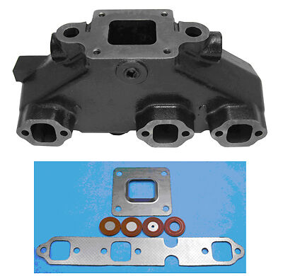 MerCruiser 4.3L DRY JOINT Exhaust Manifold - Replaces 864612T02 - HGE4612