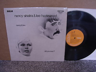 Nancy Sinatra & Lee Hazelwood – Did You Ever? Rca Uk Lp Us Psych Country Rock Ex