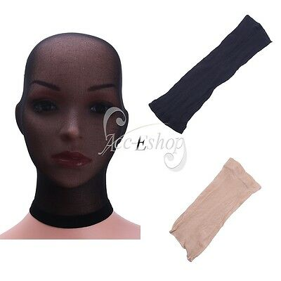 Unisex Stocking Headgear Pantyhose Mask Sheer Hood Role Play Costume Male Female